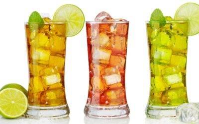 Prepare chás refrescantes neste verão